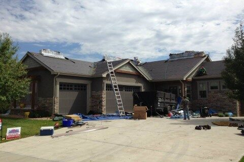 INSURANCE CLAIM ROOF REPLACEMENT